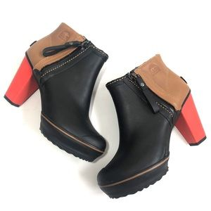 Sorel 'Medina' Colorblock Rain Ankle Boot